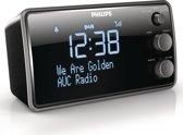 Philips AJB3552 - DAB+ wekkerradio - Zwart