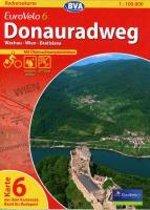 BVA-Radreisekarte Eurovelo 6 Karte 06 Donauradweg 1 : 100 000
