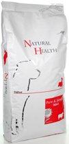 Natural Health Droogvoer Hondenvoeding Natural Health Dog Lamb & Rice Adult single proteïn - premium