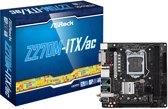 Asrock Z270M-ITX/ac Intel® Z270 LGA 1151 (Socket H4) Mini ITX