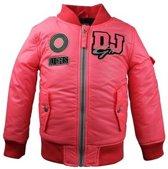 DJ Dutchjeans Meisjes Jas - Neon pink - Maat 110