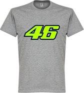 Valentino Rossi 46 T-Shirt - Grijs - XXL