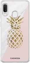 Samsung Galaxy A20e siliconen hoesje - Ananas