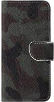 FONU Bookcase Donkere Camoprint Samsung Galaxy S9