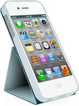 Macally SStand, iPhone 5 Case + Steun, Blauw