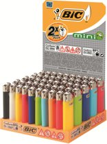 bic mini lighters display (50 stuks) gratis verzending