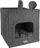 Sleep Pet Cave Chunk Antraciet