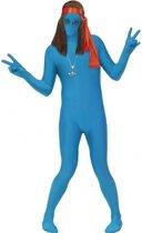 Second skin pak blauw M