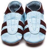 babyslofjes sports baby blue chocolate maat S (105 cm)