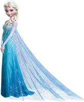 Disney Frozen - Maxi Muursticker - Elsa - Blauw - 105x125 cm