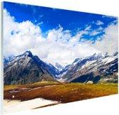 Himalaya in India Glas 120x80 cm - Foto print op Glas (Plexiglas wanddecoratie)