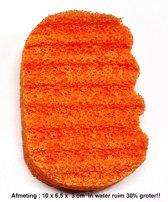 Aroma Therapie-Ergonomische Badspons - Sinaasappel/Grapefruit - Voordeelverpakking - 2 Stuks!!