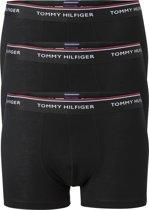 Tommy Hilfiger boxershorts (3-pack) - zwart -  Maat L