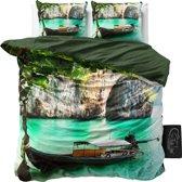 Sleeptime Boat in Water - Dekbedovertrekset - Lits-Jumeaux - 240x200/220 + 2 kussenslopen 60x70 - Multi