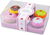 New Classic Toys - Speelgoed Cupcakes - 7 delig