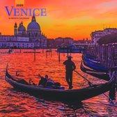 Venice - Venedig 2020 - 18-Monatskalender mit freier TravelDays-App