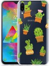 Galaxy M20 Hoesje Happy Cactus