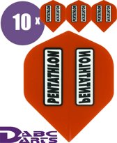 ABC Darts Flights Pentathlon - Classic - Rood - 10 sets