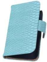 Samsung Galaxy Note 3 Neo Hoesje Slang Bookstyle Turquoise