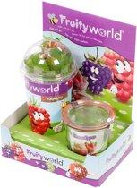 Fruityworld Jam Set - Fruit Plantje Met Weck Potje - Framboos
