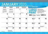 Large Print 2020 Desk Pad