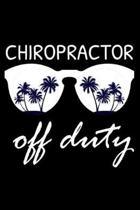 Chiropractor Off Duty