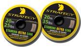 Spro Stamina Ultra Sink Sand 20m 25lb - Onderlijnmateriaal - Zand