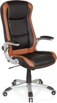hjh office Racer Compact - Bureaustoel - Lichtbruin / zwart