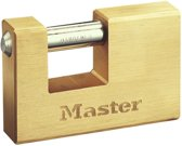 MasterLock vierkant hangslot 85mm x 12mm, 608EURD