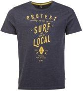 Protest T-shirt Heren ARIZONA Ground BlueS