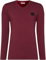 Essential V Neck Long Sleeve T-shirt