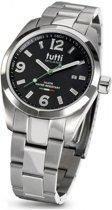 Tutti Milano TM800NO - Horloge - 40 mm - Zilverkleurig - Collectie Bacio