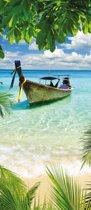 Thailand Boot  - Fotobehang 91 x 211 cm