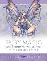 Fairy Magic - Whimsical Fantasy Coloring Book