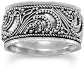 Bali ring Bead - 925 zilver - maat 20.00 mm - maat 20.00 mm