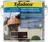 Xyladecor Ramen & Deuren Uv-Plus - Houtbeits - Notenhout - 2,5L