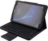 Samsung Galaxy Tab A 10.1 (2016) T580/T585 bluetooth Toetsenbord Hoes - Bluetooth Keyboard Cover Case - Zwart