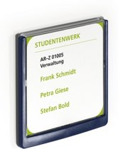 DURABLE Naambord Click Sign, kunststof, 149 x 148,5 mm