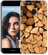 Huawei Nova 2 Hoesje Boomstammen