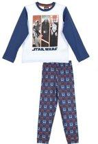 Star Wars pyjama blauw maat 128
