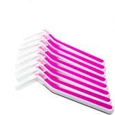 Interdental brushes - Tandenragers - Roze - 8 Stuks