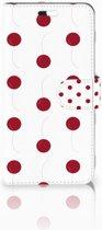 Huawei P10 Plus Boekhoesje Design Cherries