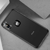 Let op type!! TOTUDESIGN Frosted TPU Case for  iPhone XS Max  6.5 inch (Black)