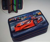 Monster Cars 3-vaks Etui Red Car