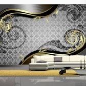 Fotobehang - Golden snail