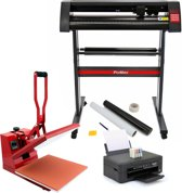 PixMax Set 38cm Clam Transferpers, Snijplotter, Printer, Weeding Pack