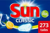 Sun Classic Citroen vaatwastabletten - 7x39 tabs - Met frisse citroengeur