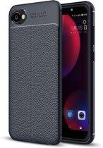 HTC Desire 12 Soft Design TPU Case - Navy