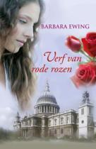Verf van rode rozen