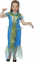 Zeemeermin jurk voor meisjes 104